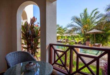 Amani Luxury Apartments balcony