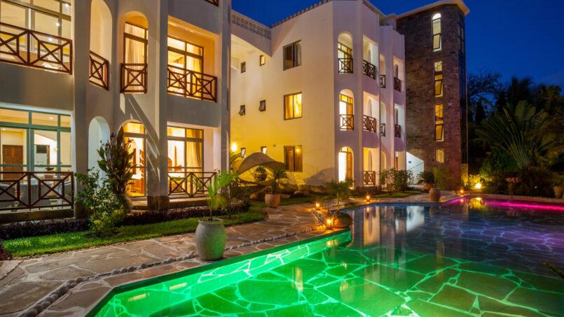 Amani Luxury apartments exterior
