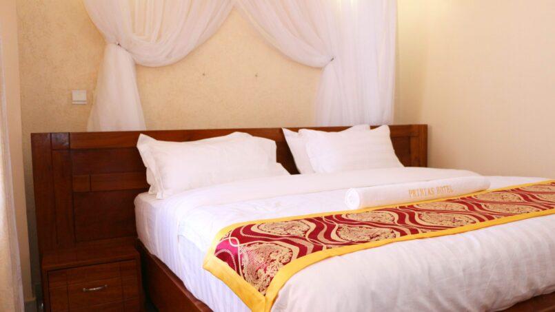 Prinias Hotel Kisumu Cozy bed