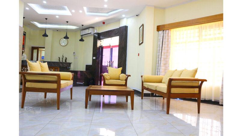 Prinias Hotel Kisumu Guest Lounge