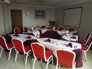 Prinias Hotel Kisumu dining hall