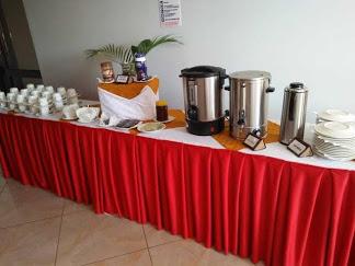 Prinias Hotel Kisumu Buffet table