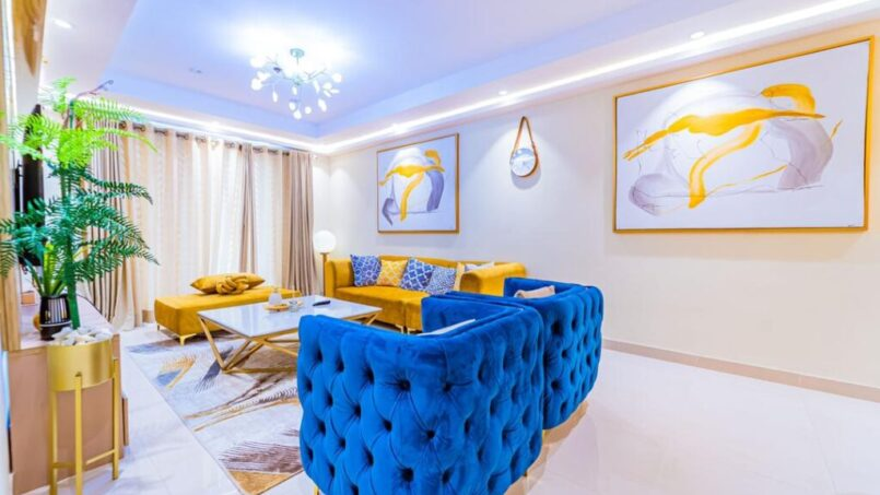 Signet Apartment living room