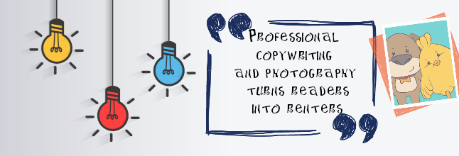 copywriting and photography